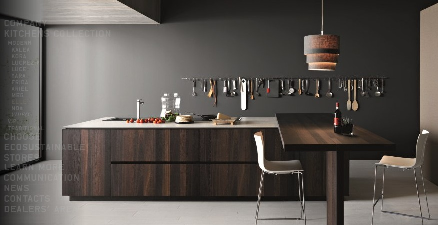 Polyviz Studio Gray Kitchen Design