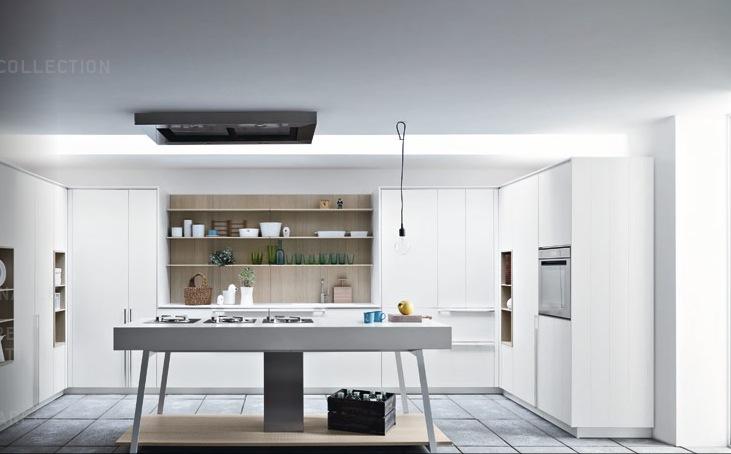 white modern kitchen design