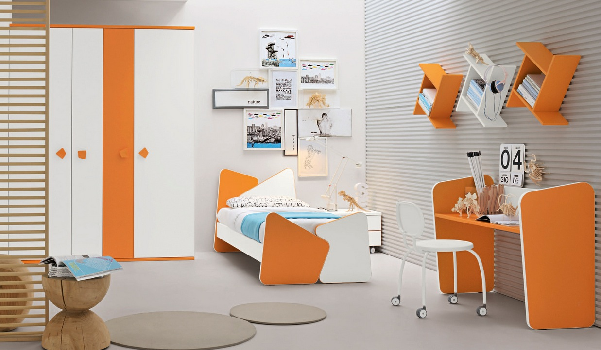 modern kid's bedroom