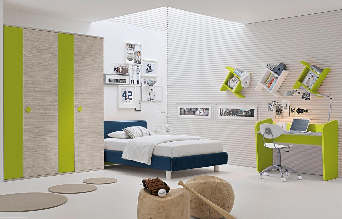 colorful decorating kid's bedroom design