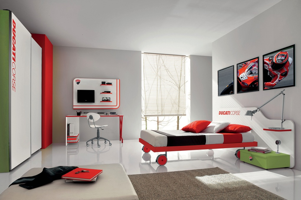 decorating modern kid's bedroom