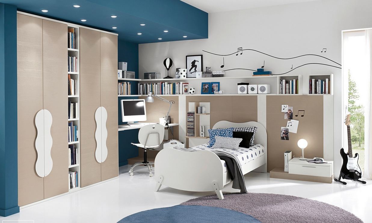 cute decorating kid's bedroom