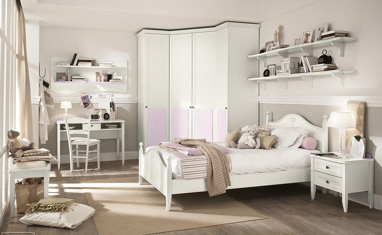 brown kid's bedroom design