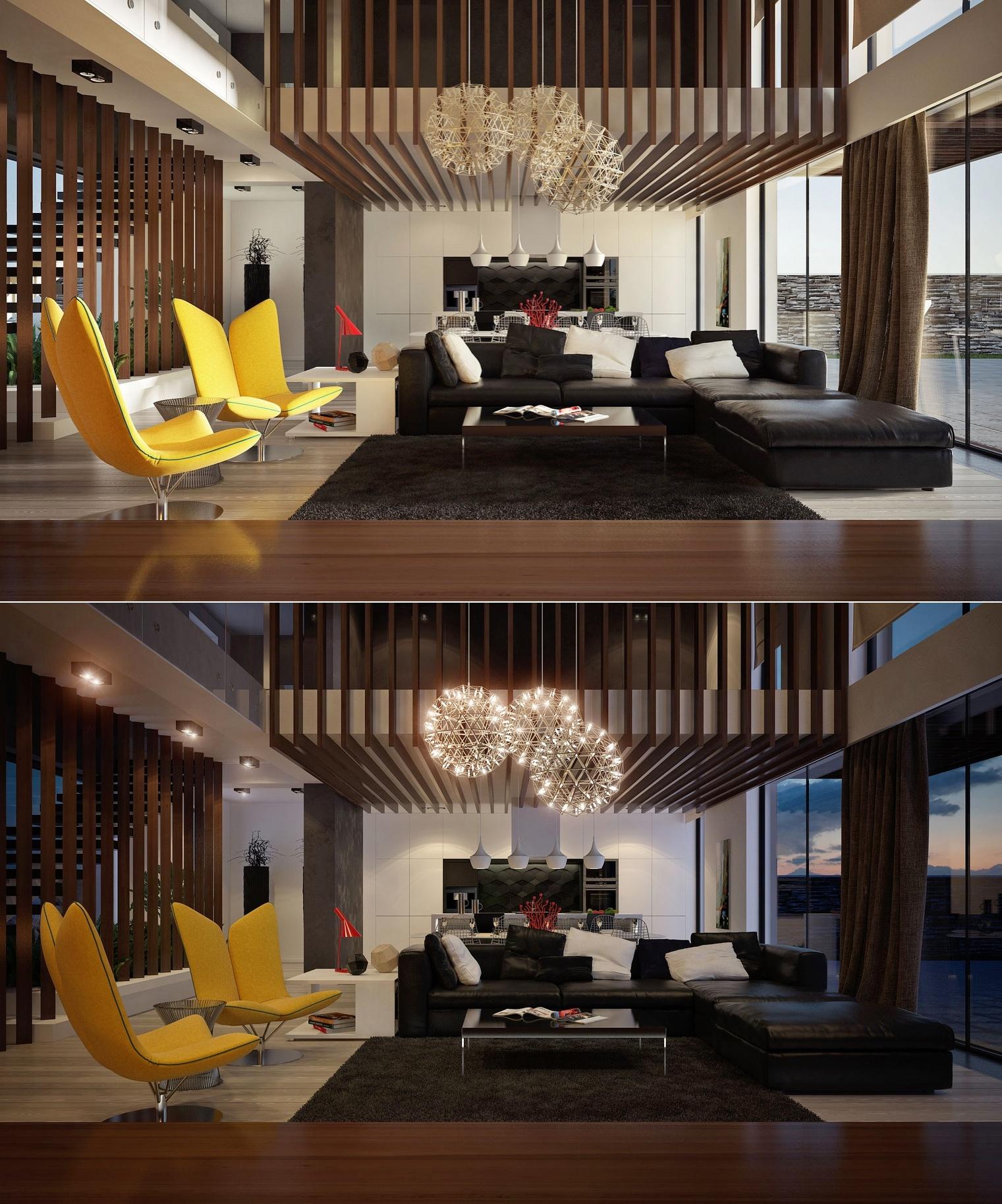 creative luxury living room design