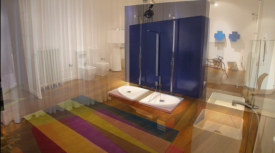 Inspiration for decorating bathroom ideas with bright color combination which so beautiful - Refreshingly bright bathroom ideas colorful decorations ...