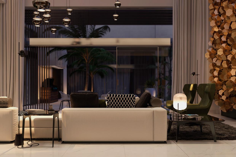 whimsical living room design