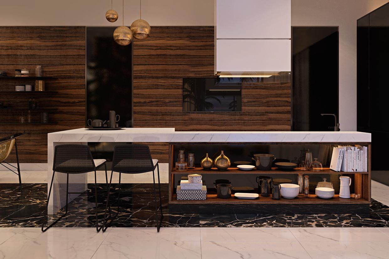 kitchen set design idea