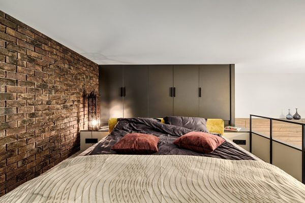 Loft bedroom design idea