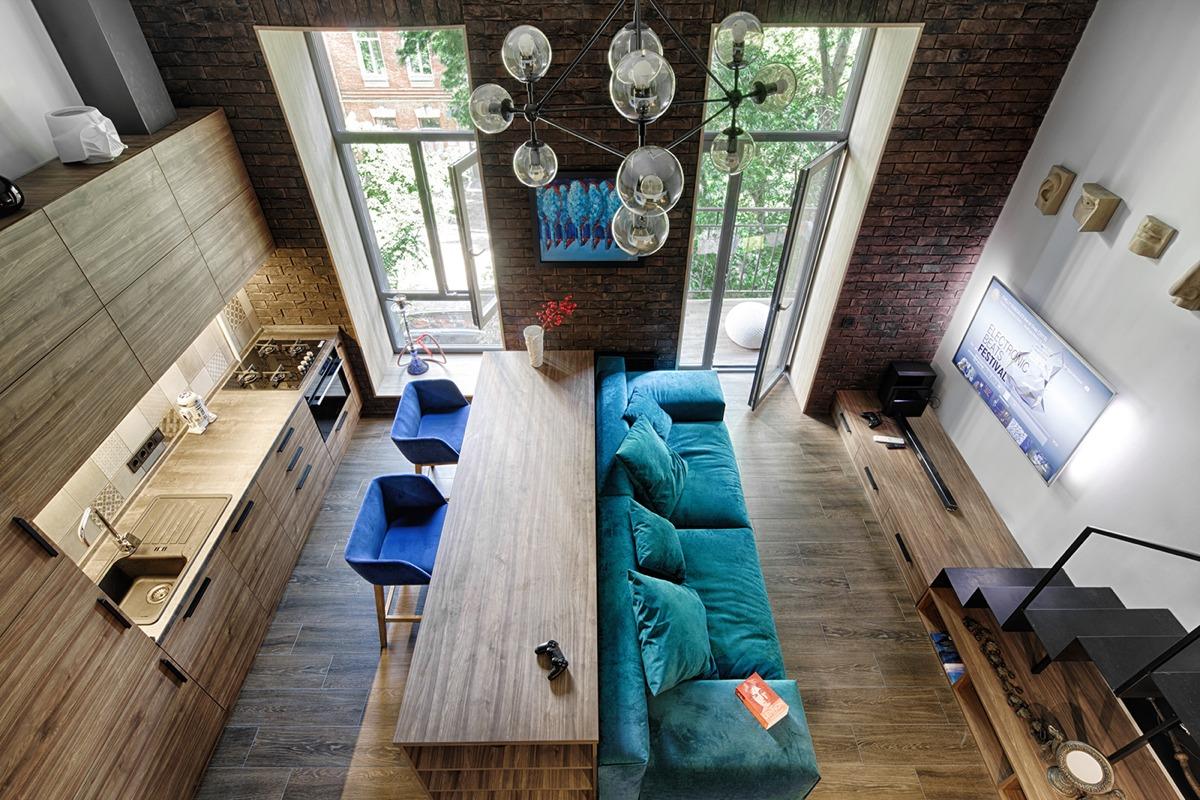 Loft apartment concept