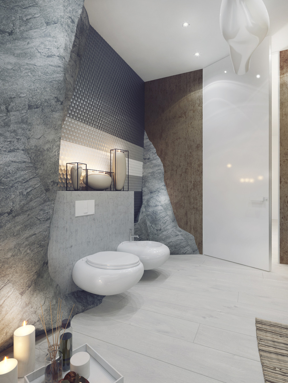 creative designs for bathroom