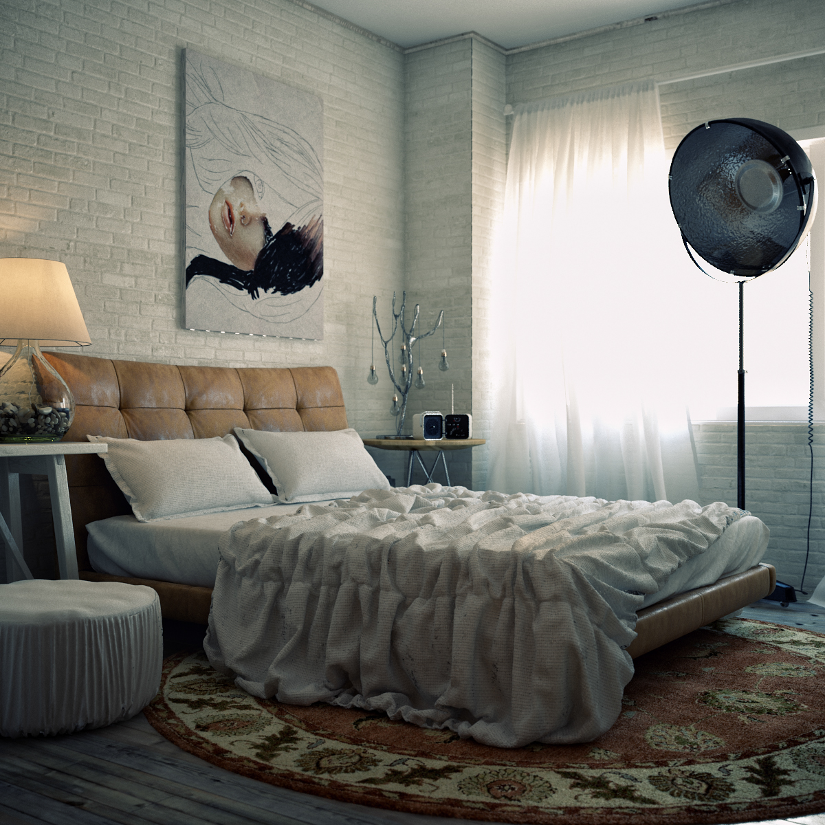 Variety of minimalist bedroom designs look so trendy with for Minimalist bedding ideas