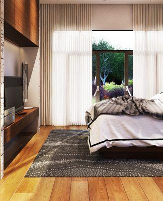 minimalist wooden bedroom designs