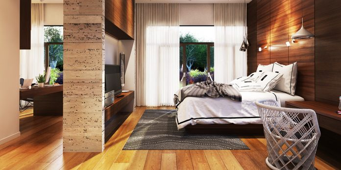 minimalist wooden bedroom designs