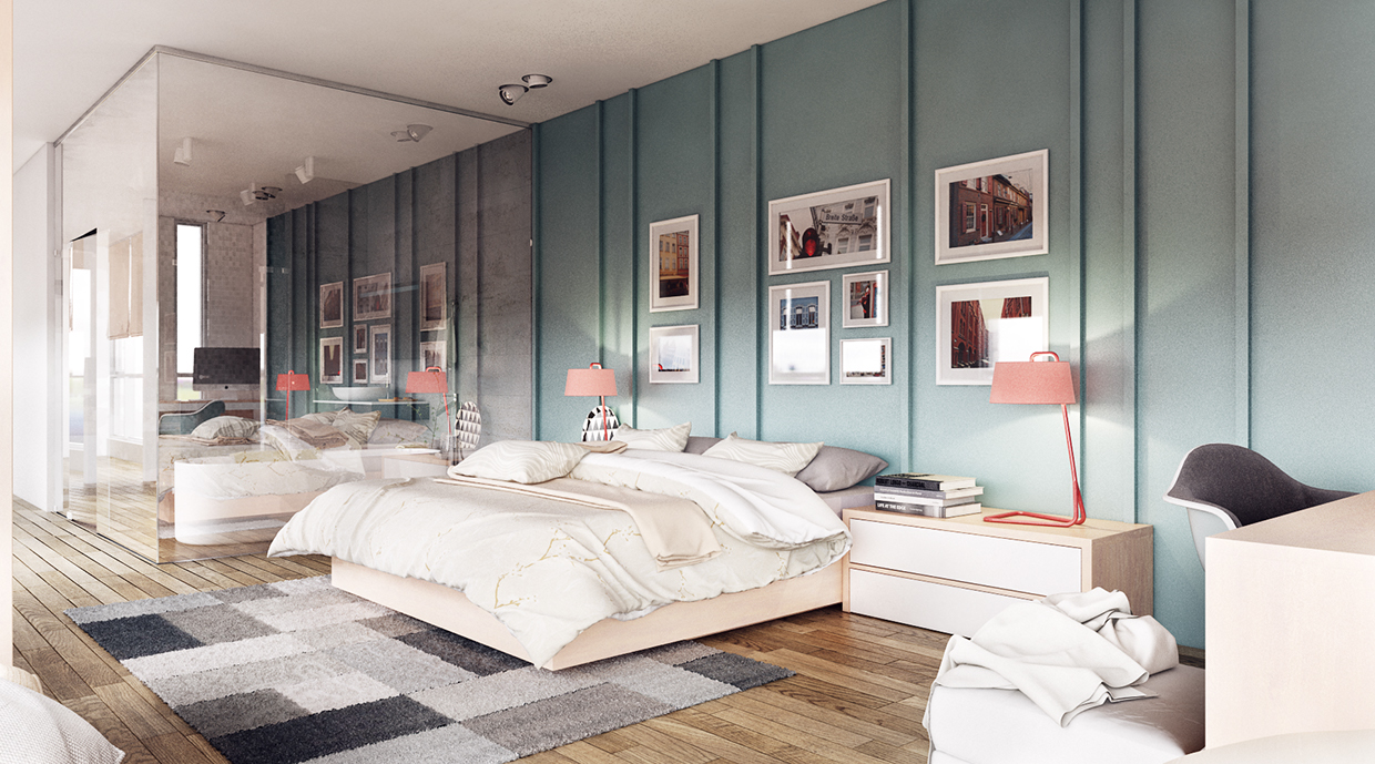 minimalist bedroom for house design