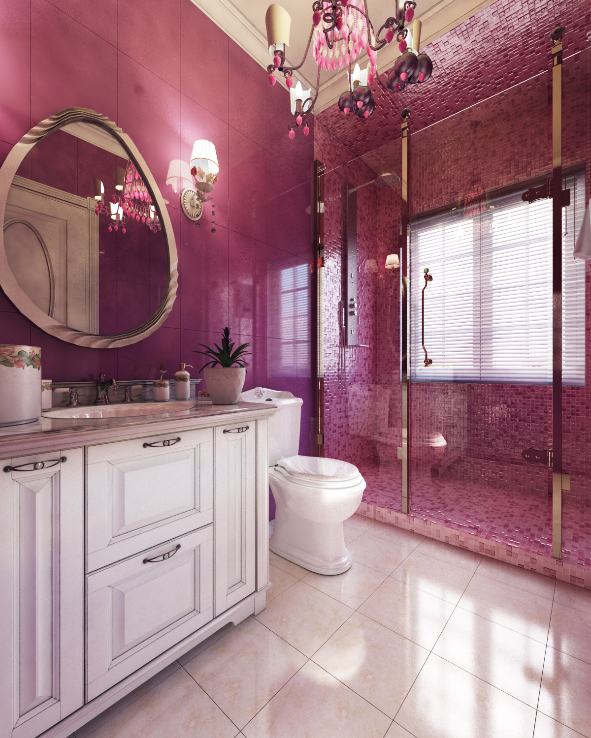 beautiful wall color for bathroom