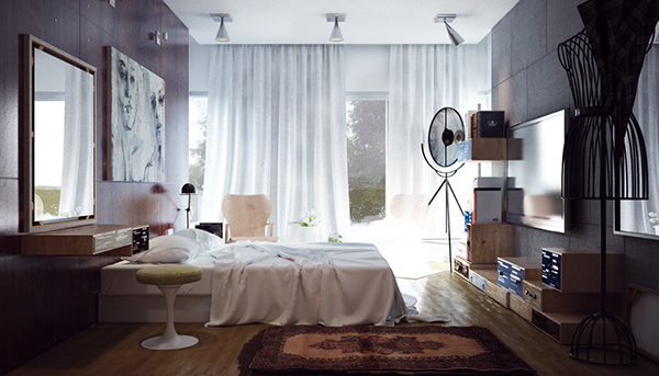small minimalist bedroom designs