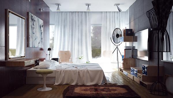 small minimalist bedroom designs