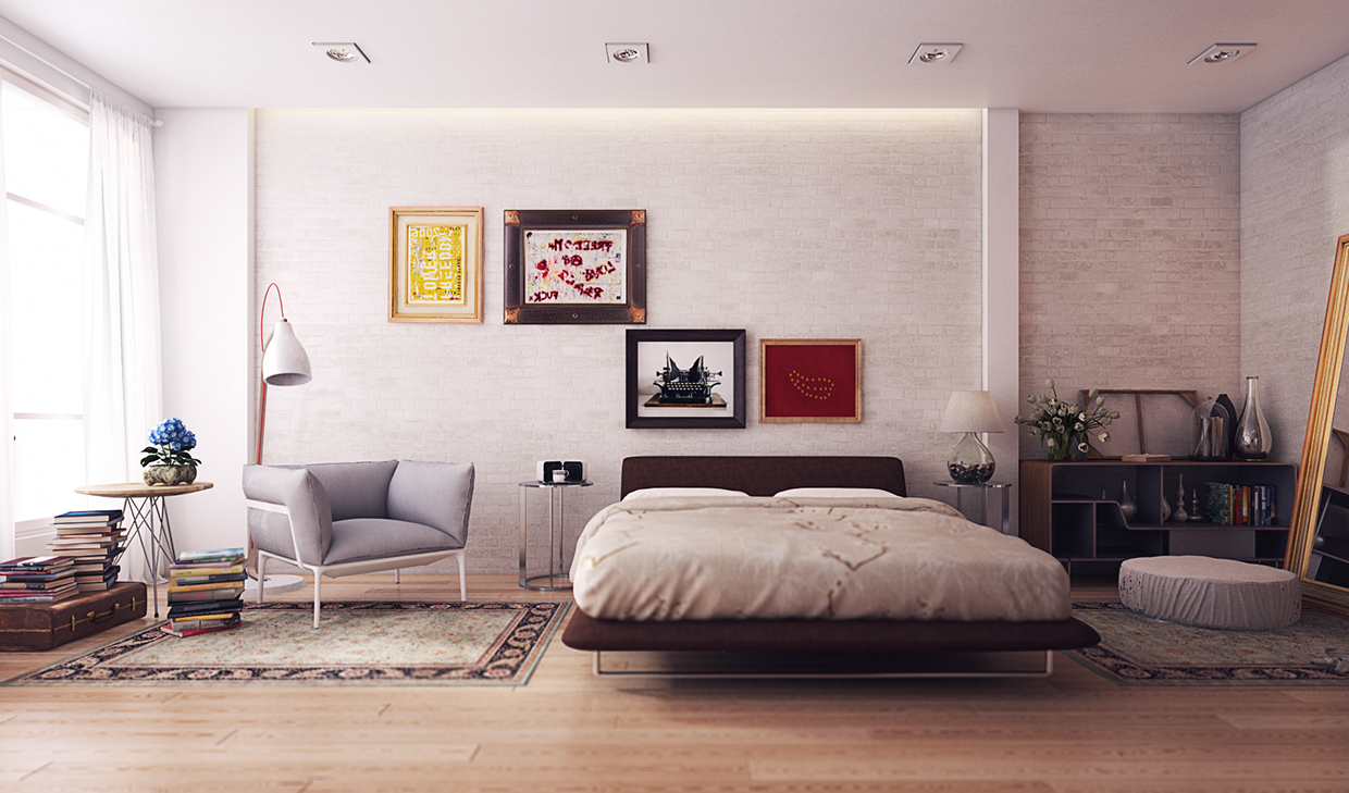 Variety of minimalist bedroom designs look so trendy with for Bedroom ideas minimalist