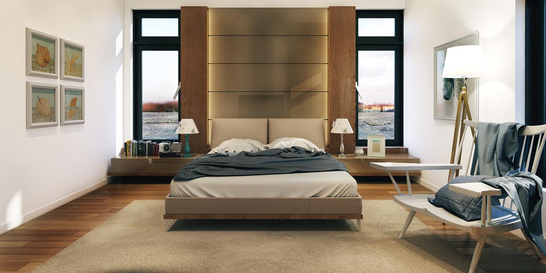 bedroom backsplash design