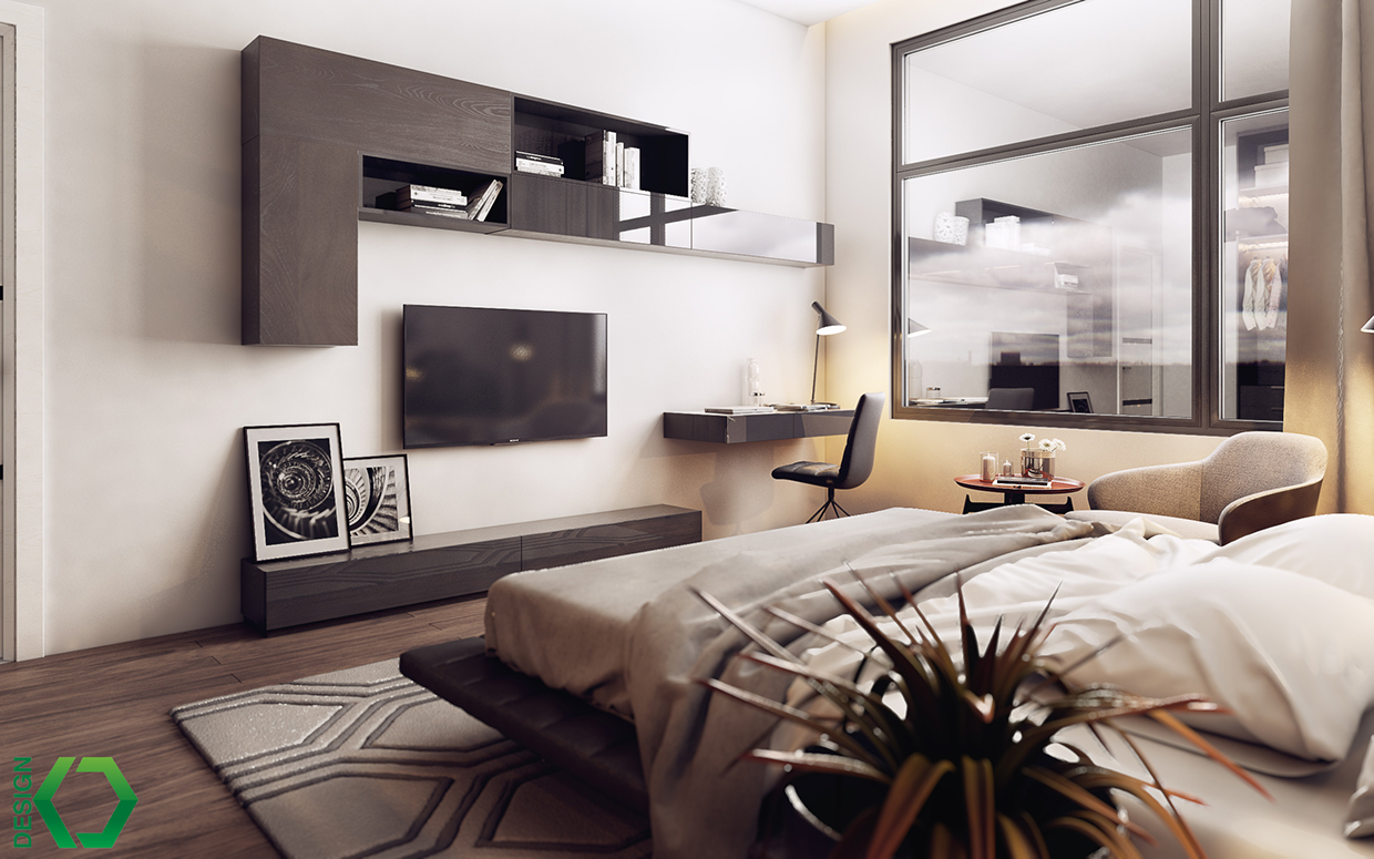 decorating bedroom apartment design