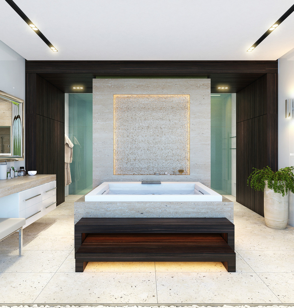 masculine decor for bathroom design