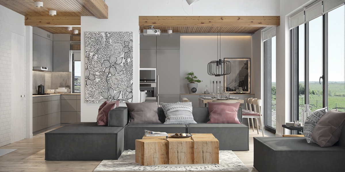 gray apartment decorating ideas