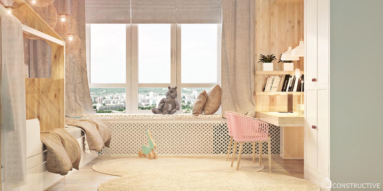 decorating minimalist child bedroom