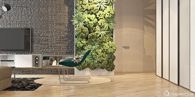 decorative plants for decorating apartment