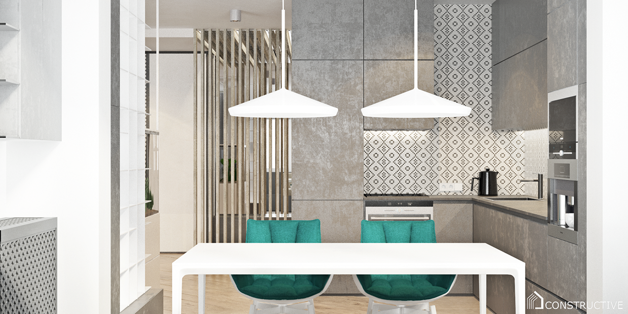 dining room design for apartment