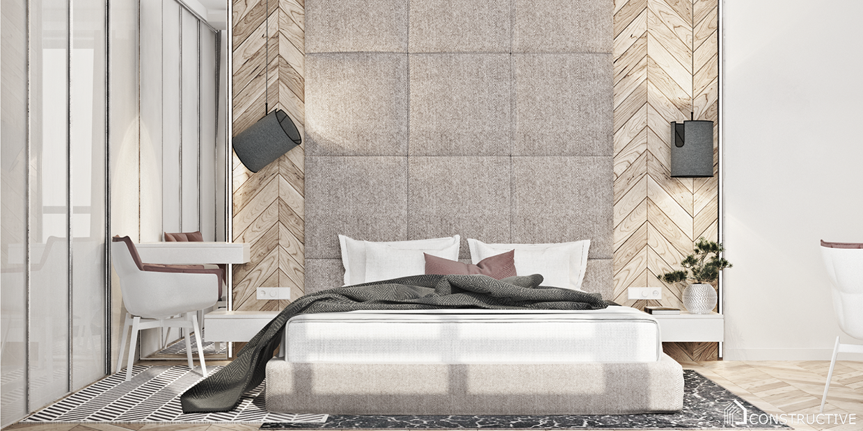 minimalist bedroom apartment design
