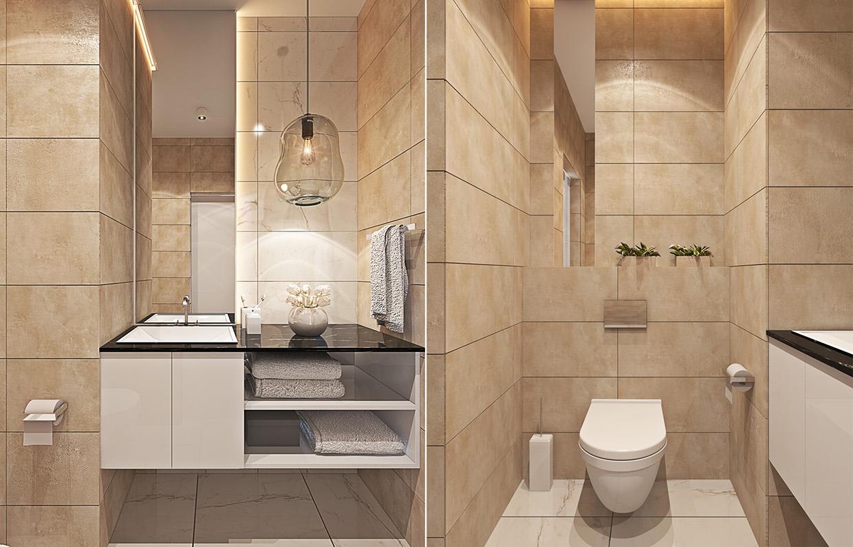decorating bathroom apartment design