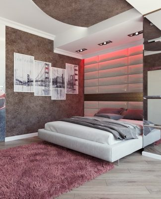 modern minimalist bedroom design