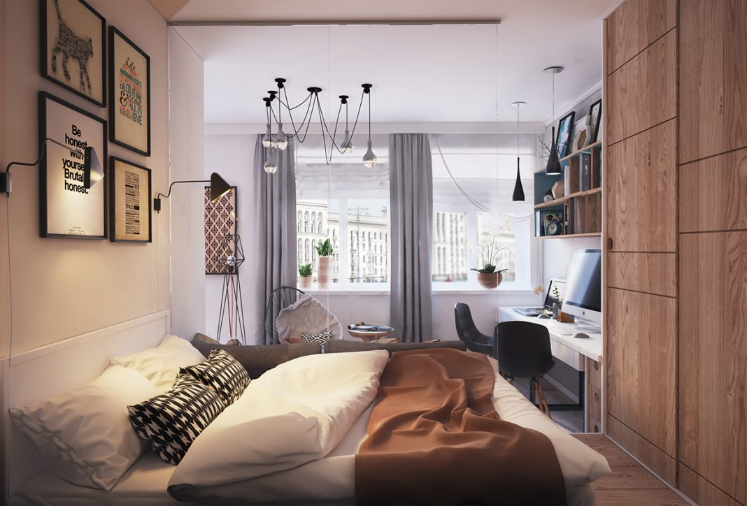 How to design modern small bedroom space