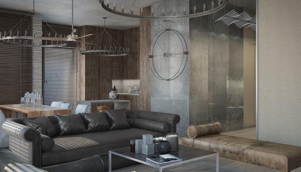 concrete loft apartment plans