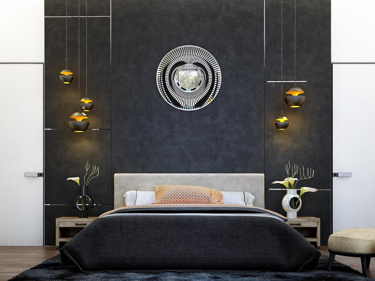 luxury dark bedroom decorating ideas