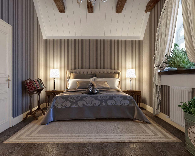 wallpaper bedroom design