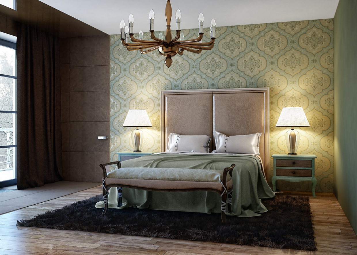 wall texture for luxury bedroom