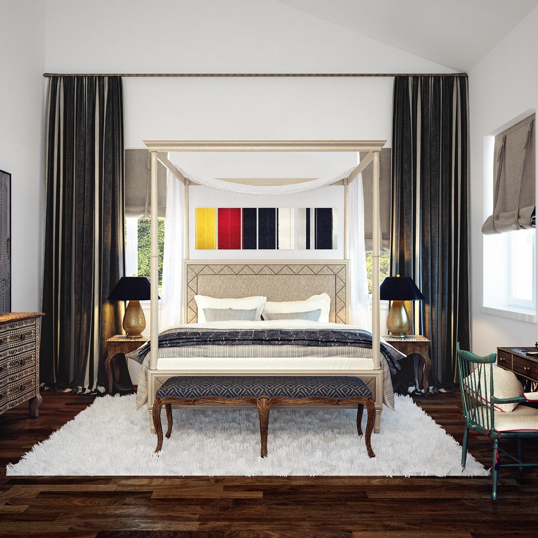 luxury bedroom design idea