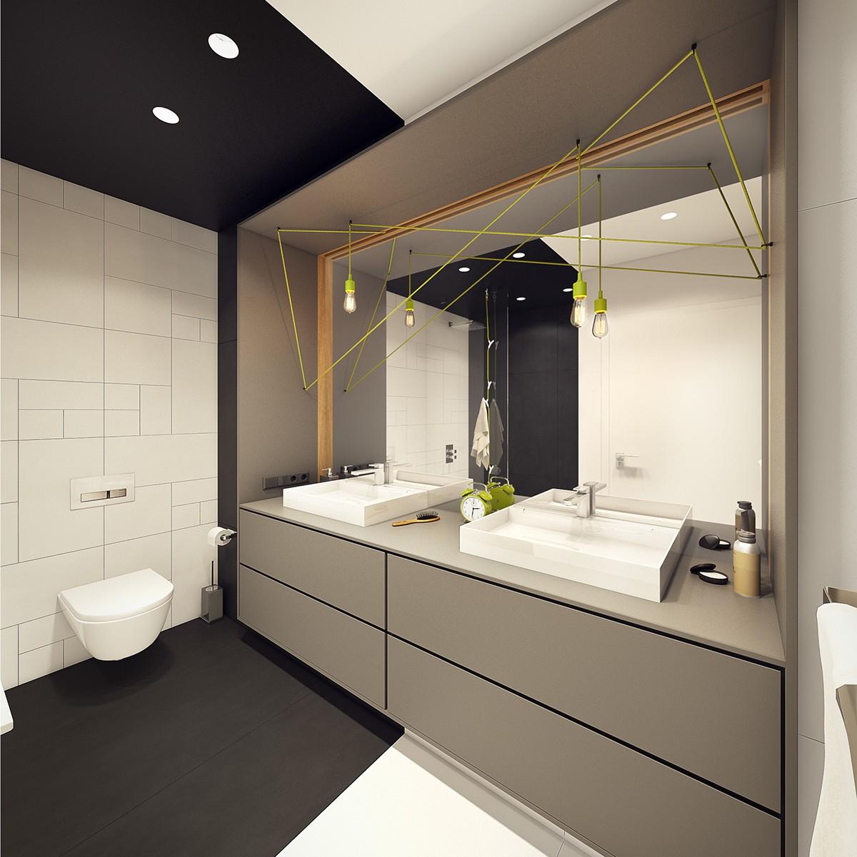 modern bathroom apartment design