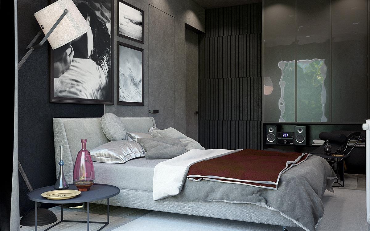 masculine bedroom decorating ideas
