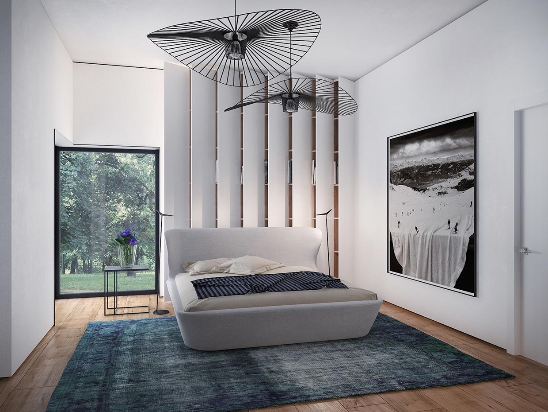 trendy home interior bedroom design