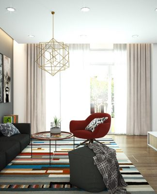 cozy and modern apartment design