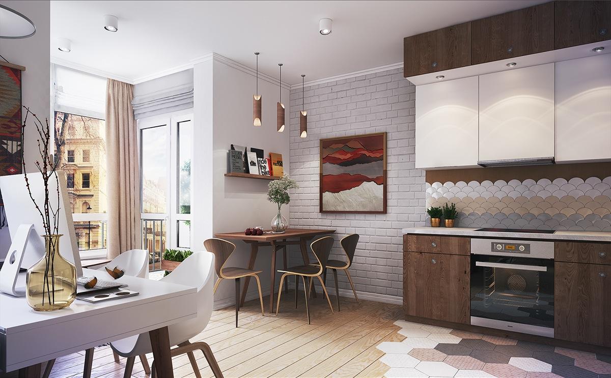 kitchen set for tiny apartment
