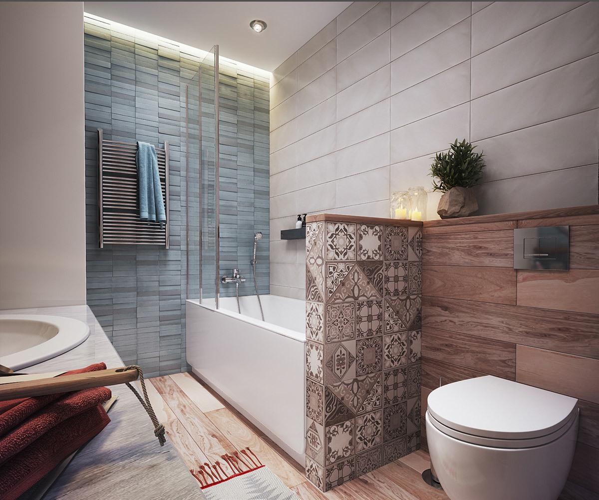 minimalist apartment bathroom design
