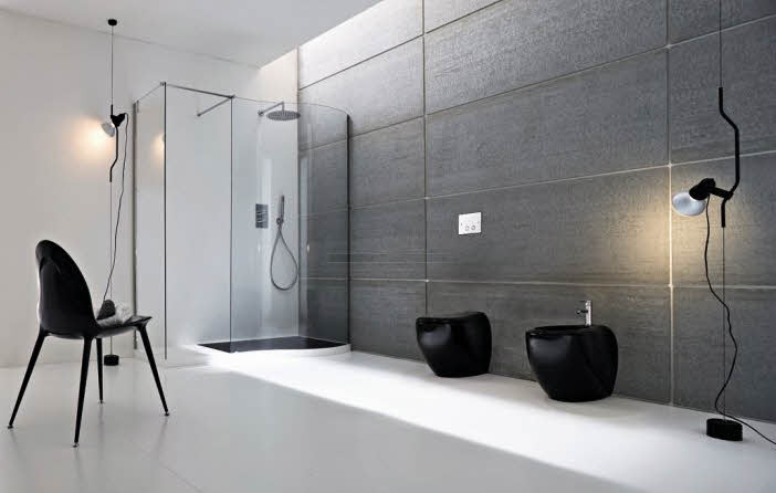 modern bathroom with perfect design
