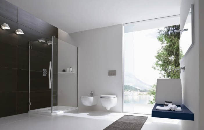 wooden modern bathroom designwooden modern bathroom design