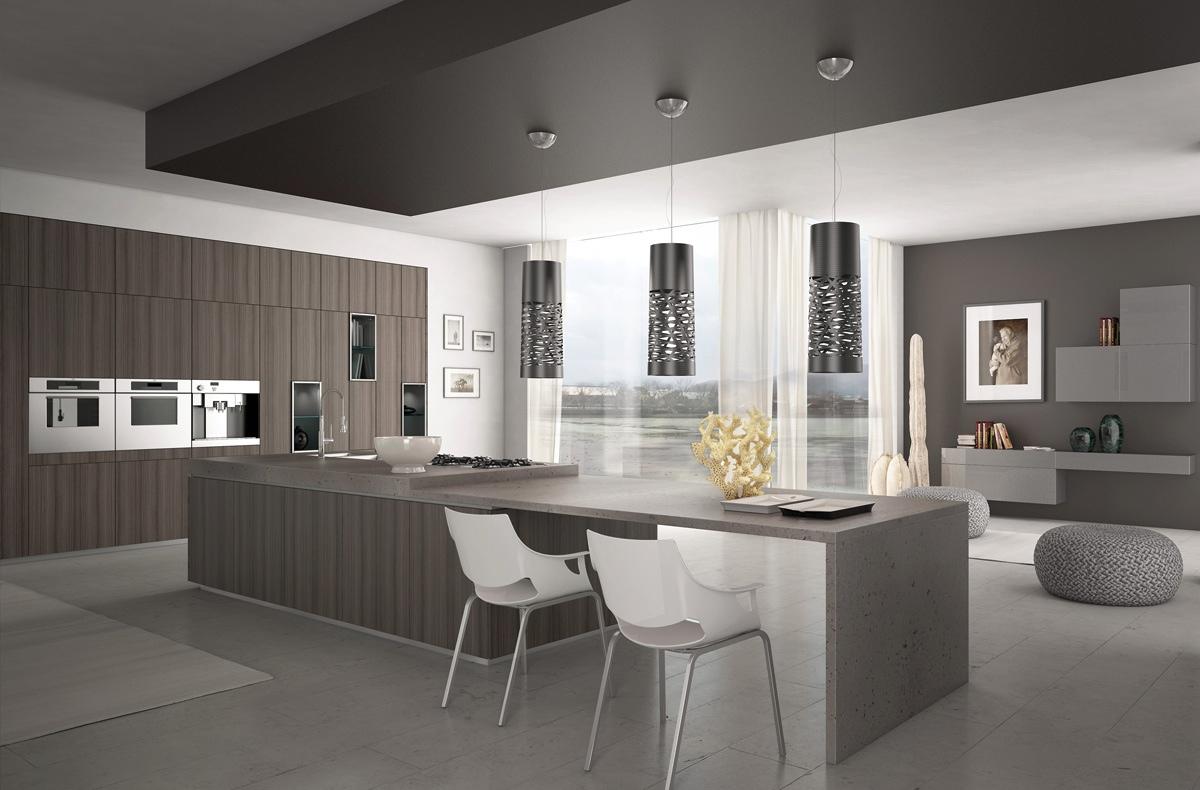 gorgeous minimalist kitchen design