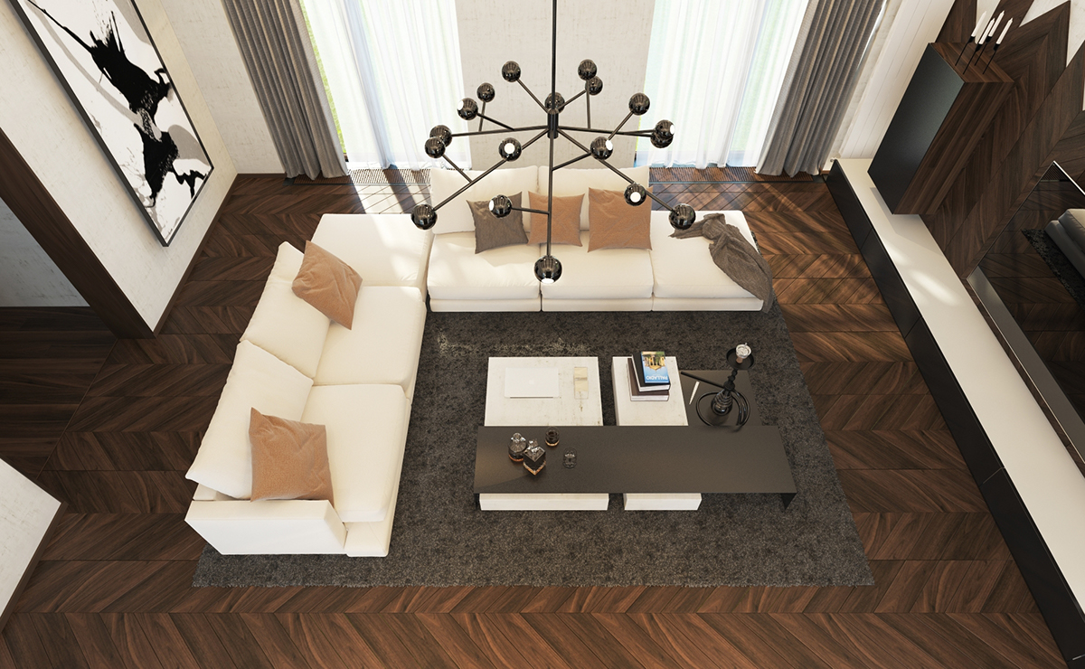 Large Living Room Decorating Large Living Room Decorating Ideas Brings A Modern And Cool