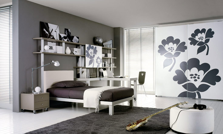 girl teen bedroom design ideas