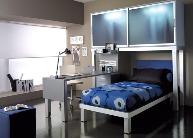 contemporary girls teen bedroom design